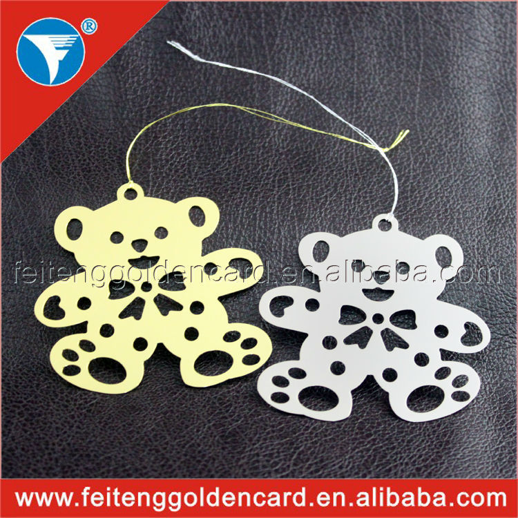Cute OEM Ornament for Lovers Exported Bear Metal Ornaments for Wedding Gifts(China (Mainland))