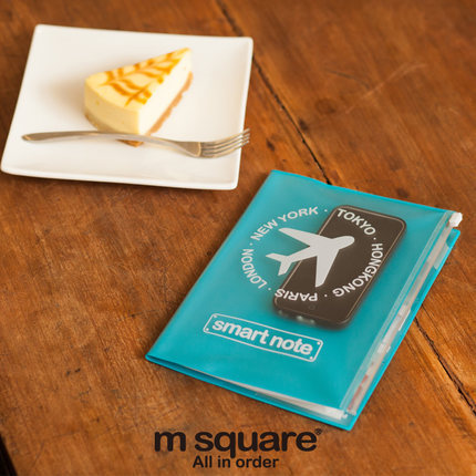 M Square - Brand Notebook Waterproof Cover Ipad Card Holder Passport Storage Bag travel accessories Organizer Shenzhen Soul Technology CO., LTD store