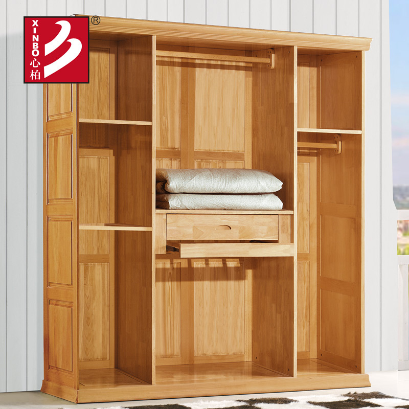 Modern design wardrobe item wooden wardrobe cabinet closet for Armoire bois chambre