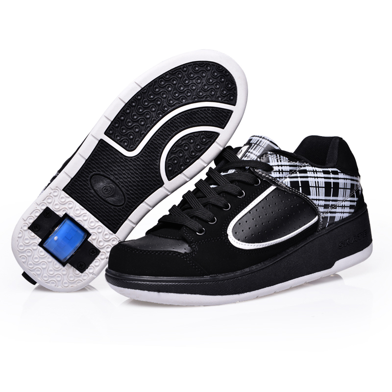 Super Light Kids Adult Shoes Wheels Automatic Invisible Zapatos Roller Skate Girls Boys Sport Zapatillas Con Ruedas - QL KIDS LOVE store
