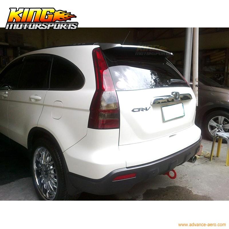 Fit For Honda CR-V CRV 3rd M Look Unpainted Roof Trunk Spoiler 07 11