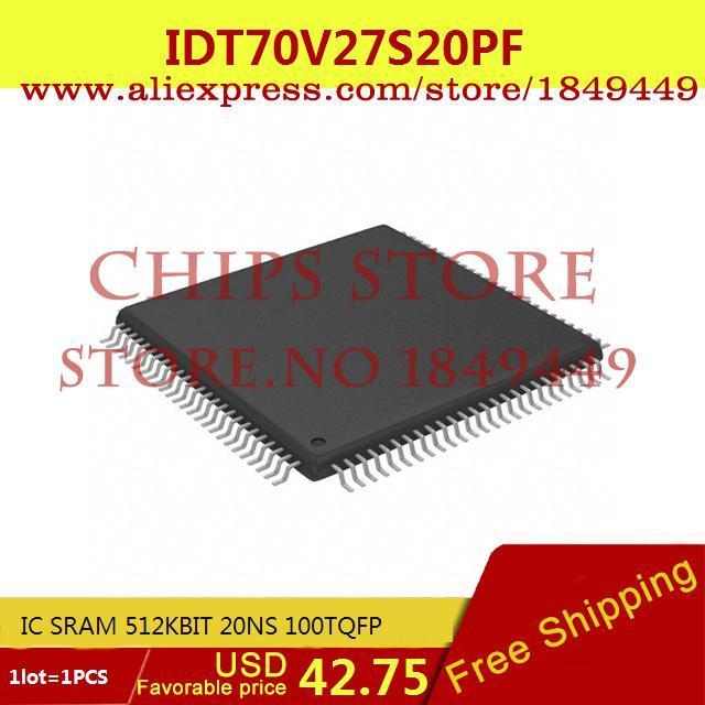Здесь можно купить  Free Shipping IC Integrated Circuit IDT70V27S20PF IC SRAM 512KBIT 20NS 100TQFP 70V27 IDT70V27 1pcs  Электронные компоненты и материалы