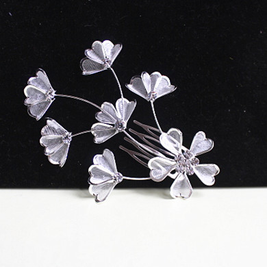 Free Shipping,Flower Woman Hair combs Hair accessary wholesale .(China (Mainland))