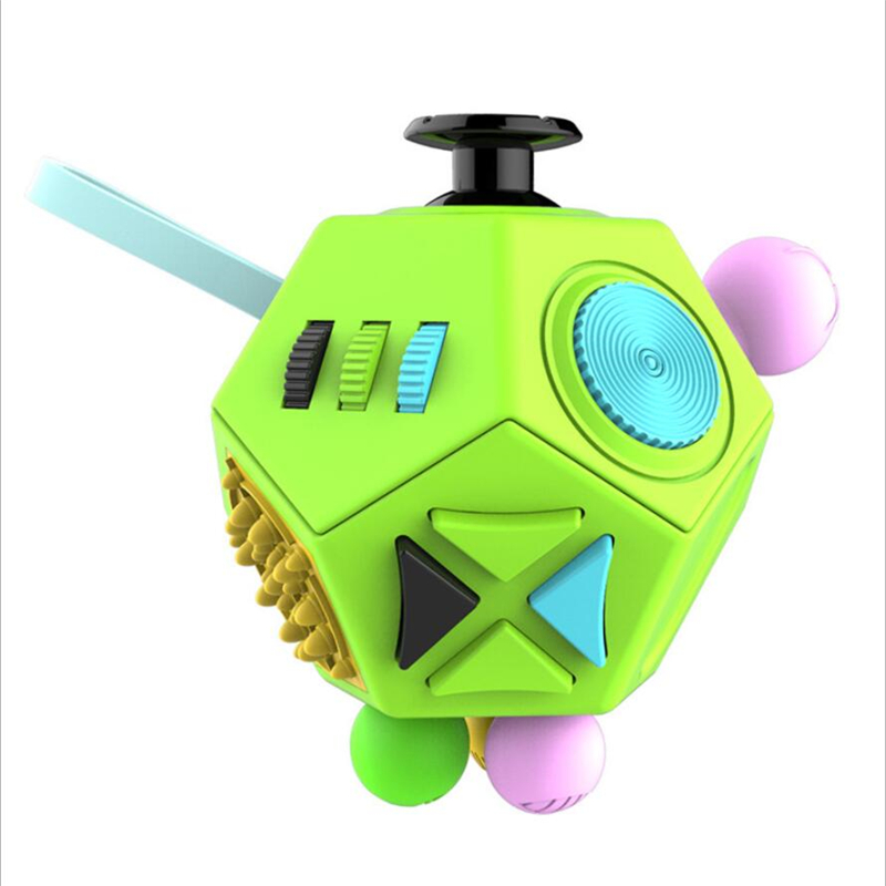 Stress Reliever Fidget Cube Squeeze Fun Toy Anti-stress Relieves Gift Anxiety and Stress Juguet For Adults Fidgetcube Desk Spin