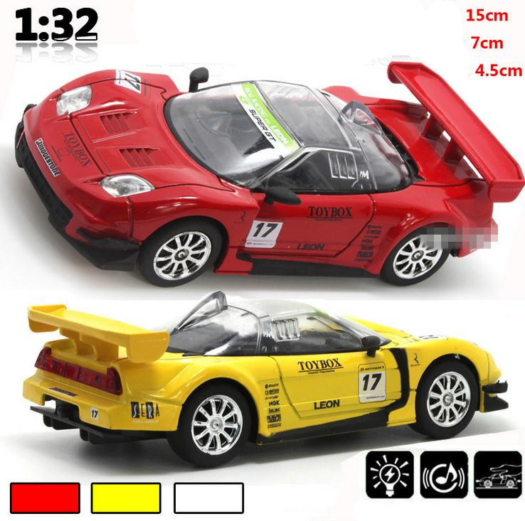 Cool Sports Toys : World model cars toy alloy sound and light pull