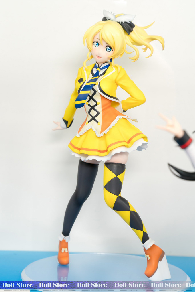 22CM Japanese original anime figure love live SUNNY DAY SONG Ellie action figure collectible model toys for boys(China (Mainland))