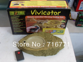 EXO TERRA  Vivicator Remote controlled vibrating feeding dish