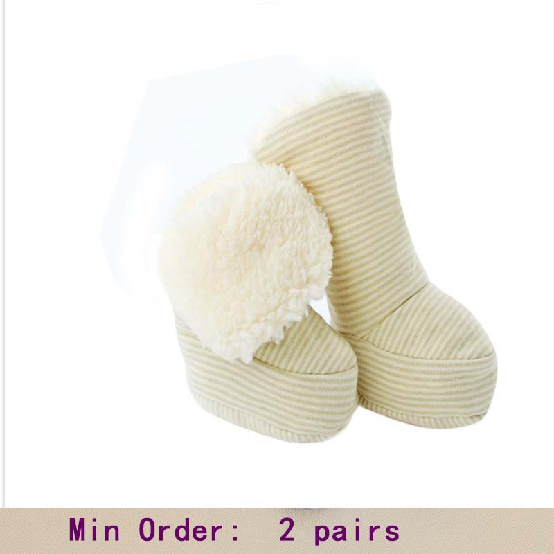 0-6 month Fantastic Infant Baby Boots Booties Toddler Winter Snow Crib Shoes min order 2 pairs(China (Mainland))