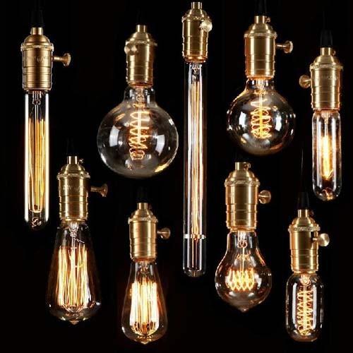 Buy retro incandescent vintage light for Edison bulb fixture diy