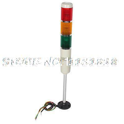 AC 220V Red Green Yellow LED Industrial Flash Light Tower Alarm Lamp<br><br>Aliexpress