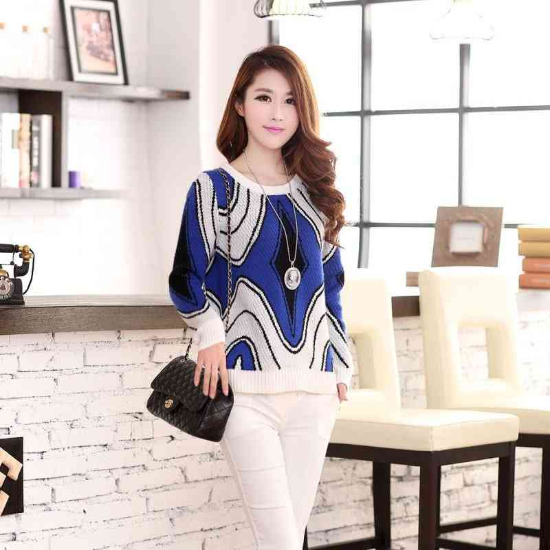 Price 2015 womens new relaxed casual set Joker make sweaters womens blouses 201411129400(China (Mainland))