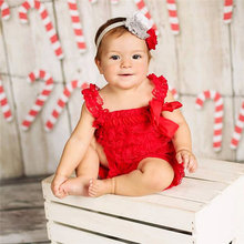 Кружевной комбинезон с оборками для маленьких девочек; комбинезон для малышей; костюм для Cake Smash; наряд для первого дня рождения; реквизит дл...(China)