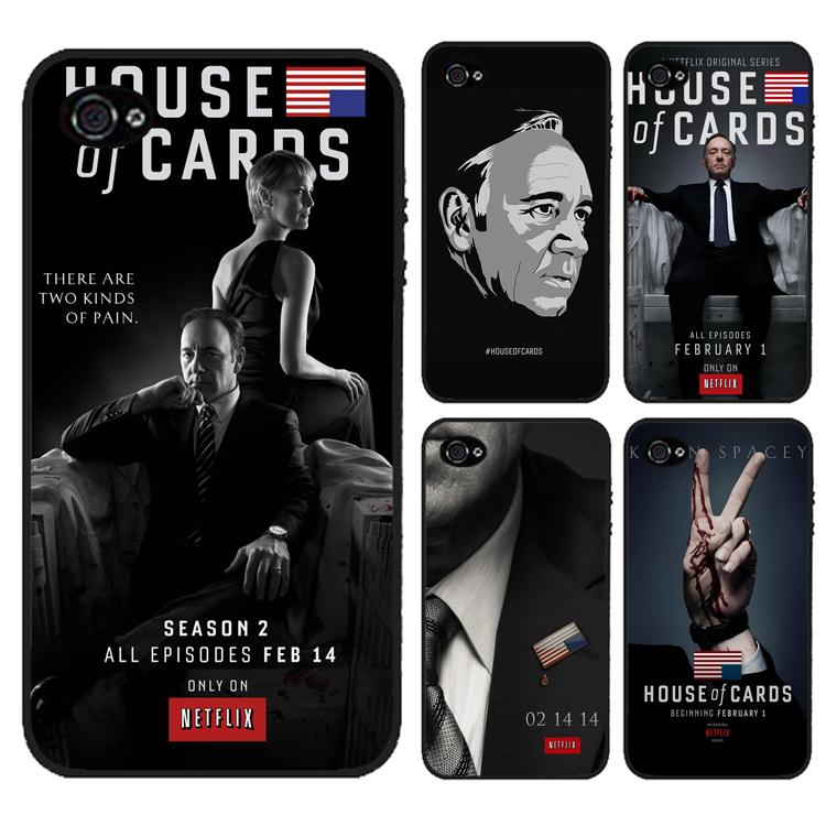 House of Cards fashion cover case for iphone 4 4s 5 5s 5c for 6 & 6 plus(China (Mainland))