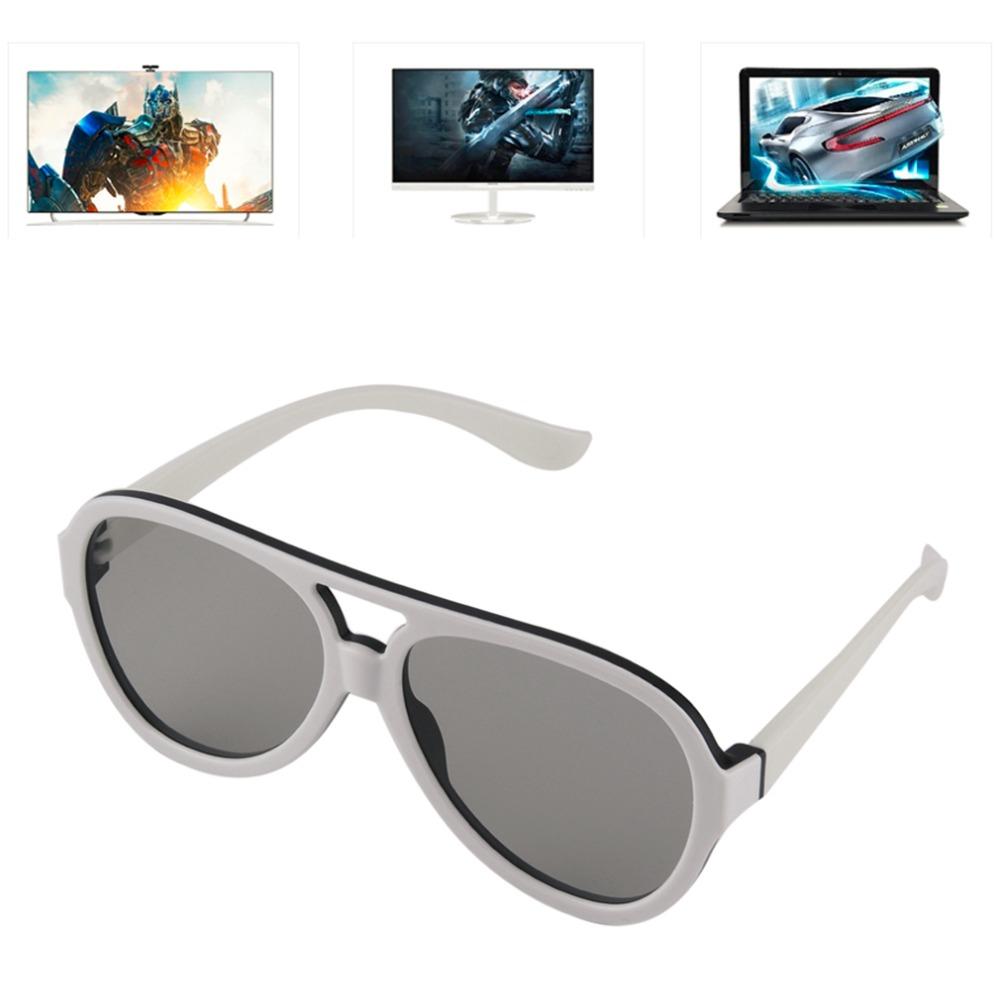 Universal Polarized 3D Glasses Passive Google Cardboard VR Virtual Reality 3D Game Movie TV Cinema Theatre Plastic Frame Glasses(China (Mainland))