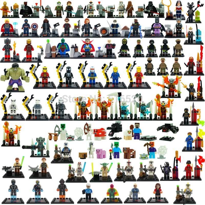Детское лего Minifigures Lego brinquedos детское лего elephant minifigures 16 diy jx1001 1002