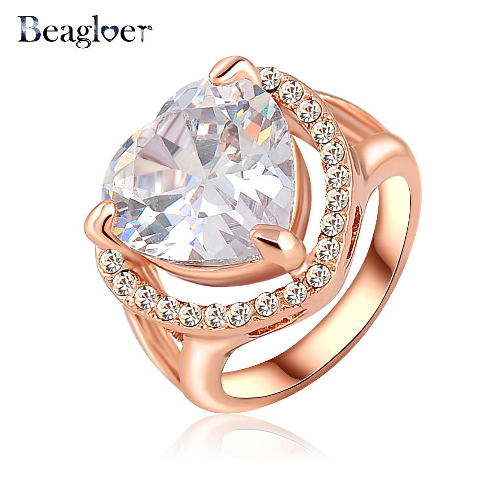 Buy Beagloer Brand Wholesale Price Ring Women Accessories Rings Fashion Jewelry