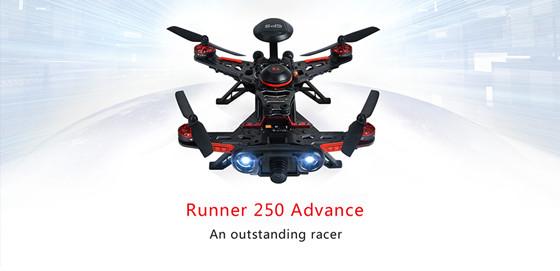 Walkera RUNNER 250 Advance Racing drone w/GPS Devo7 Radio 1080 HD Camera RTF