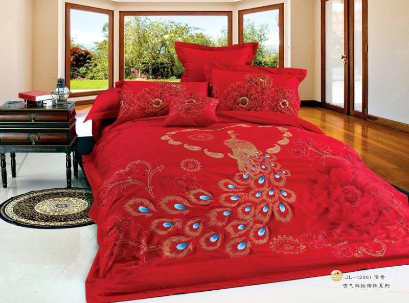 achetez en gros imprimer oriental literie en ligne des grossistes imprimer oriental literie. Black Bedroom Furniture Sets. Home Design Ideas