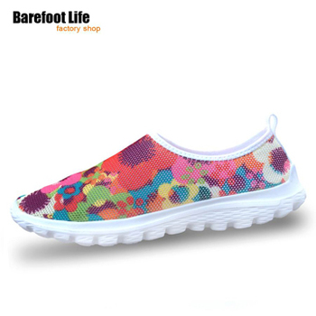 Hot sale 2016 summer Bareboot Life women sneakers,3D printing air mesh sport running shoes,sneakers,women sneakers