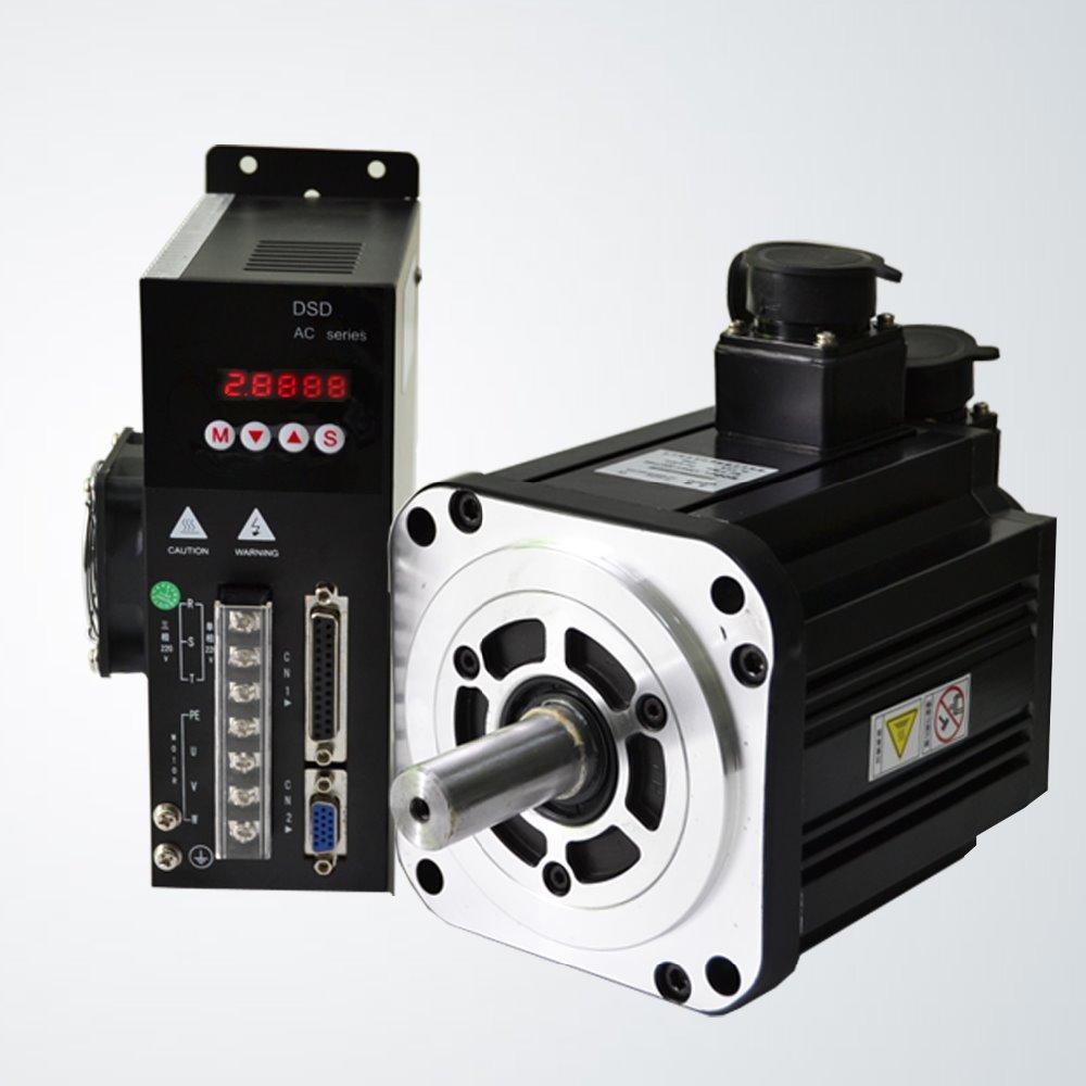 Servo Motor System : Ac servo motor drive plus flange kw