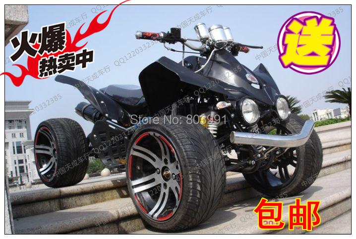 Kawasaki atv 250cc14 aluminum wheels large car mountain off-road vehicles sports car(China (Mainland))