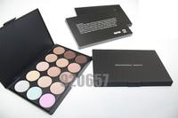 Professional 15 Color Make Up Cream Camouflage Concealer Palette Area EMS or DHL (72pcs/lot)