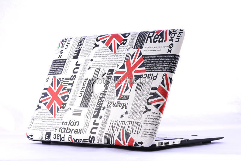 """Гаджет  English Flag Shell Skin hard cover case For apple Macbook air 11"""" 13"""" MacBook Pro 13"""" 15 Protective Leather Cover  Free Shipping None Компьютер & сеть"""
