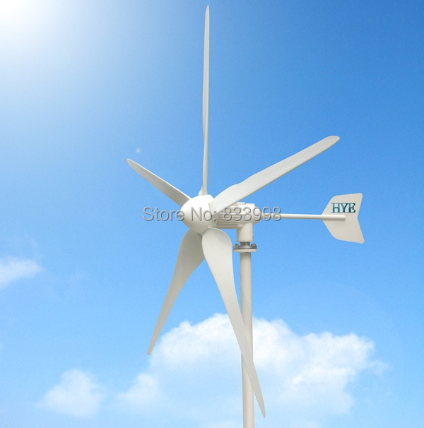 HYE Off-grid wind power system parts windmill / wind turbine / wind generator 3000W /3kw DC output 48V(China (Mainland))