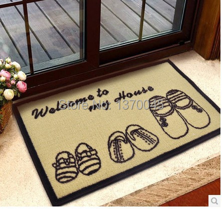 40*60cm bath mat High Quality Doorway Rugs And Carpets For Living Room Kitchen Dining Room rug bathroom carpet tapetes de sala(China (Mainland))