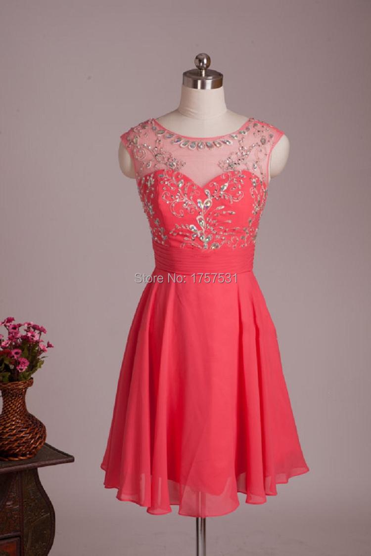 Hot sale crystal short mini beaded elegant a line scoop for Short wedding dresses for sale