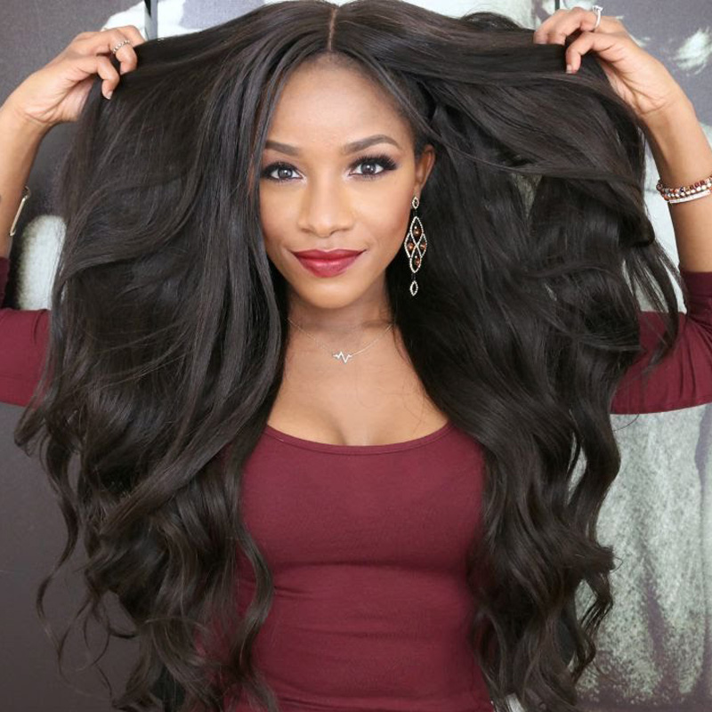 10 days New TOP 180% Density 7A BW Full Lace Wigs Human Hair Wig Virgin Brazilian Lace Front Wig Glueless Baby Hair Around(China (Mainland))