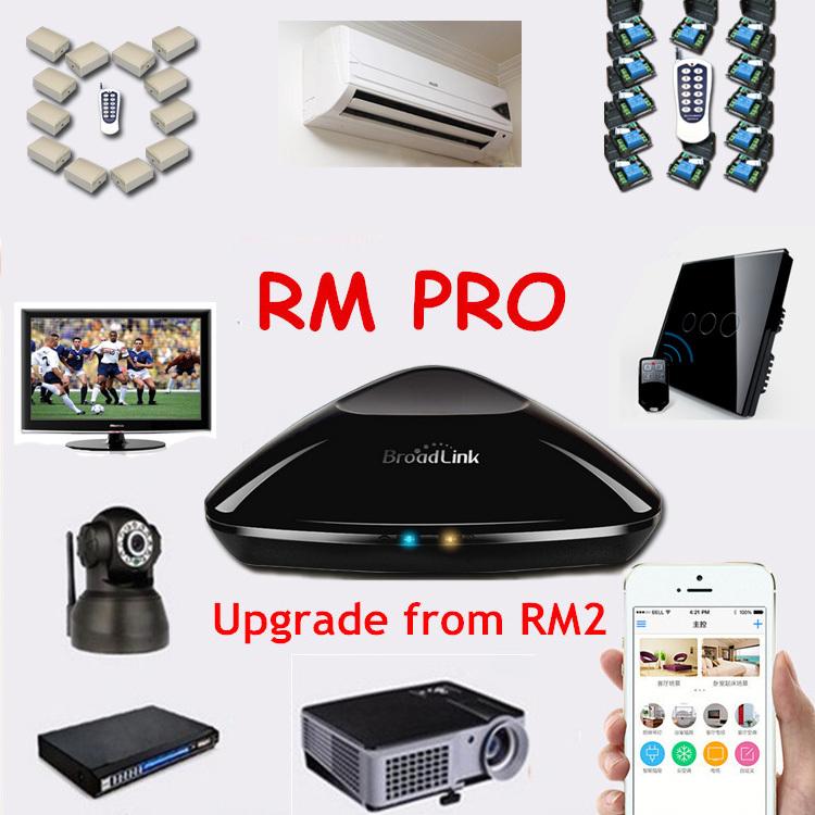 Broadlink RM2 Rm Pro,Smart Home Automation Intelligent Controller,Wireless Remote Control Fan TV Light/Lamp Switch,WIFI+IR+RF(China (Mainland))