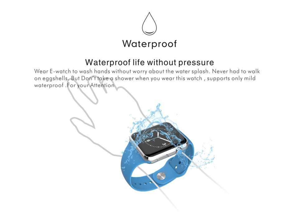 2015 New Smartwatch Bluetooth Smart watch for Apple iPhone & Samsung Android Phone relogio inteligente reloj smartphone watch