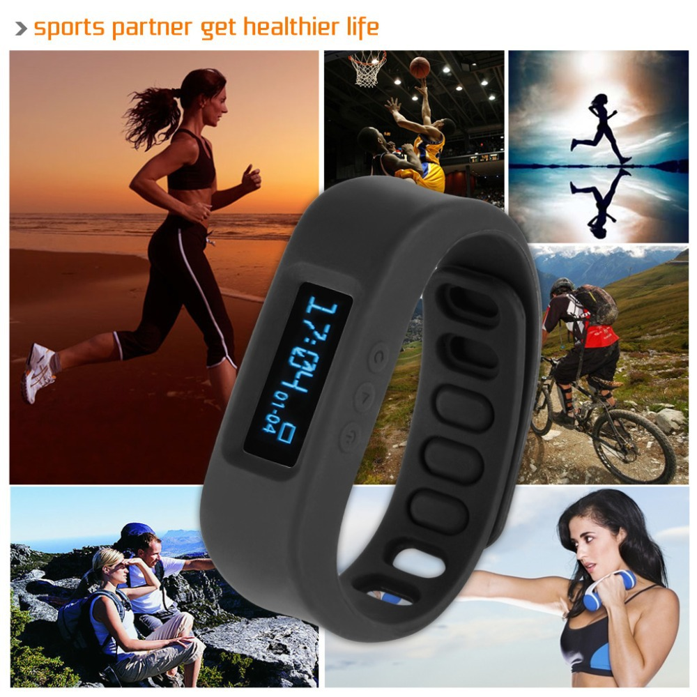 2015 New Arrival OLED Healthy Sport Bracelet Bluetooth V2.1 Smartband Smartwatch Pedometer Sleep Monitoring Tracking Calorie(China (Mainland))