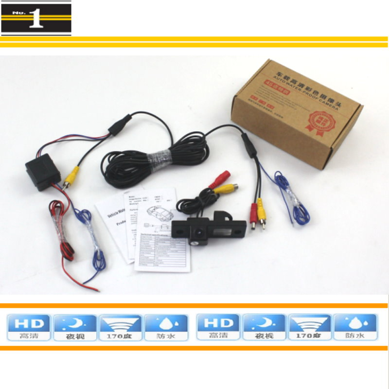 FOR ZAZ Vida 2002~2010 / Car Parking Camera / Rear Camera / HD CCD Night Vision + Power Relay Protection(China (Mainland))