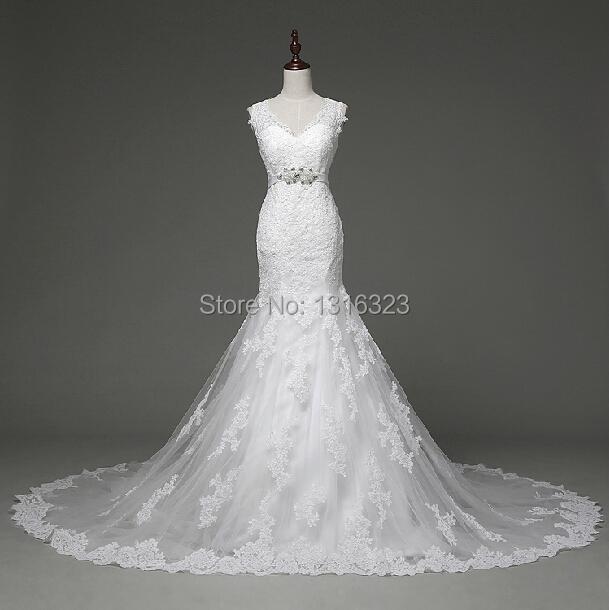 Elegant Wedding Dress Up Games : Aliexpress buy new elegant v neck open back