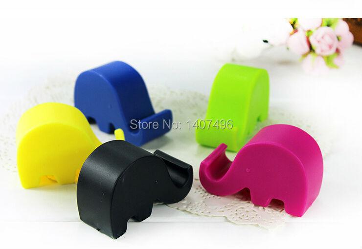 2015 Fashion LOVELY Elephant Phone Stand Mobile Holder Bracket Color Random - M & Group CO.,LTD store