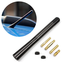 Delicate Black Fiber Carbon Short Antenna Radio Car Aerial Antenna For Cars Hot Selling EA10668(China (Mainland))