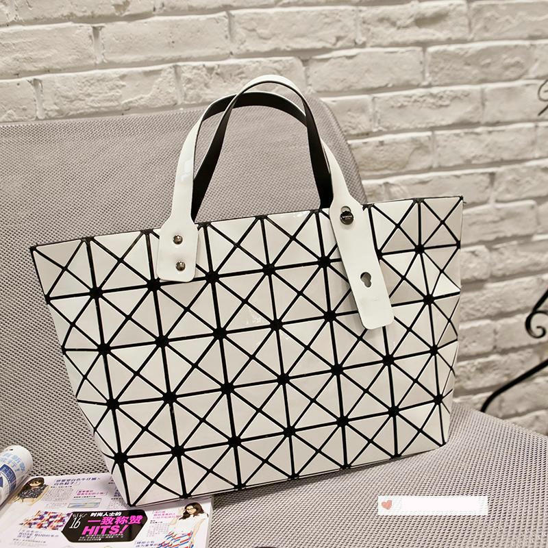 2015 fashion bags new BAOBAO pearl 6*8 geometric grid lozenge handbag shoulder bag Handbags Bag - Simple store