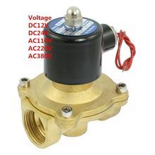 1'' Water Solenoid Valve Air Oil Brass Valve NBR 2W250-25 DC12V DC24V AC110V or AC220V(China (Mainland))