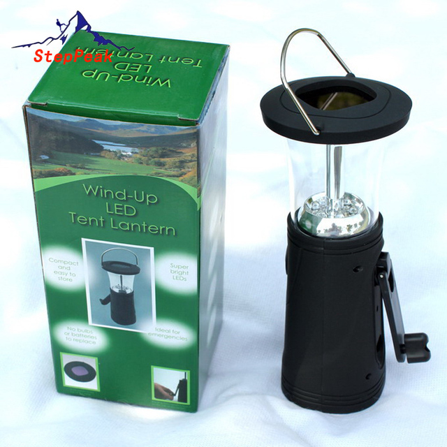 Hand Camping Solar Lantern Solar Camping Light Outdoor Lamp Hiking Tent Light(CLT-001)