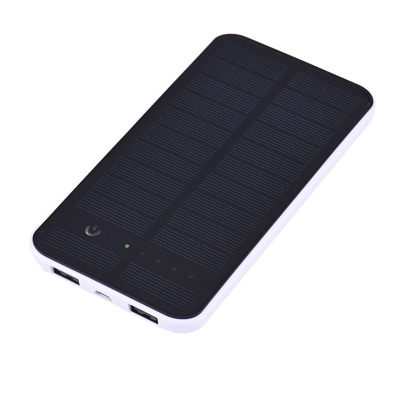 10000mAh Waterproof Solar Power Bank External Charger Powerbank for iPhone 5s 6 6s 7 plus for Samsung S6 S7 for All Mobile Phone