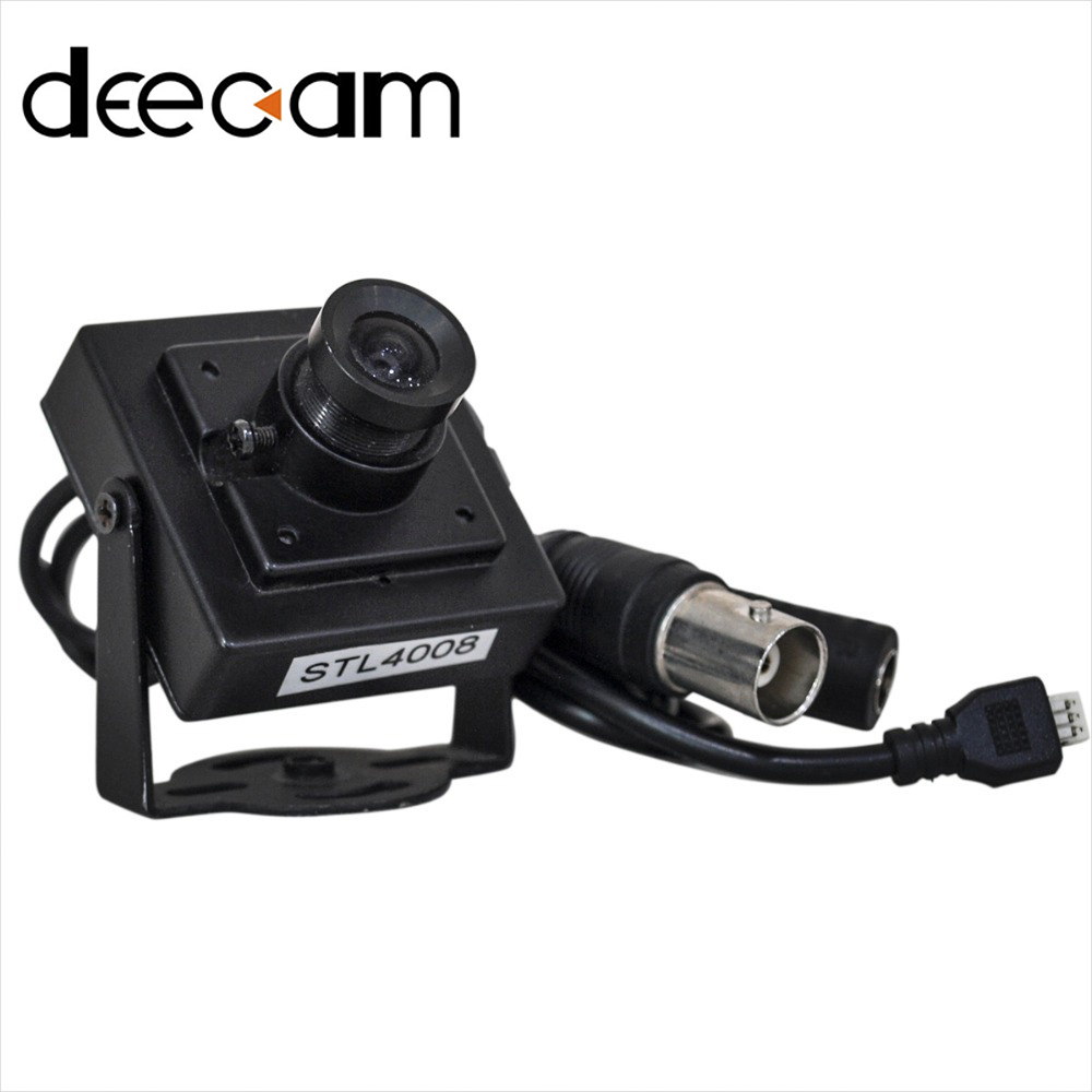 DEECAM Home Micro Security Camera System Mini Camera HD Video Recorder Module 1/4 CCTV Camera CMOS 600TVL 3.6mm Lens Indoor(China (Mainland))