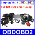 2016 New Carprog V9 31 Full Set ECU Chip Tuning for Car Radios Odometers Dashboards Immobilizers
