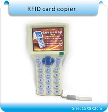 Super 9 copia frequenza criptata nfc smart card read-scrittore rfid copier id/ic di lettura-writer + 10 pz 125 khz + 10 pz 13.56 mhz uidcards(China (Mainland))