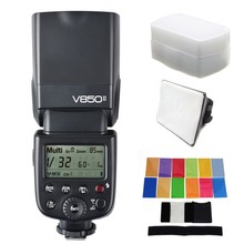 Buy Godox V850II V850 II Built-in 2.4G Supports Master Slave Li-ion Battery GN60 Canon Nikon Pentax Olympus etc. GIFT KIT for $149.00 in AliExpress store