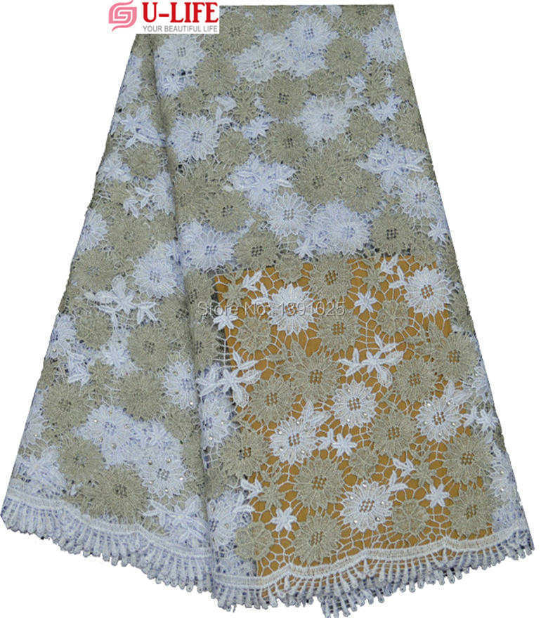 Здесь можно купить  Latest Embroidery Swiss lurex cotton Guipure Lace Material Hot Selling african cord lace fabric with sto2-180   Дом и Сад