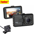 2016 New Dual Lens Car DVR Cam Dashcam 1080P Full HD Video Registrator Recorder With Backup