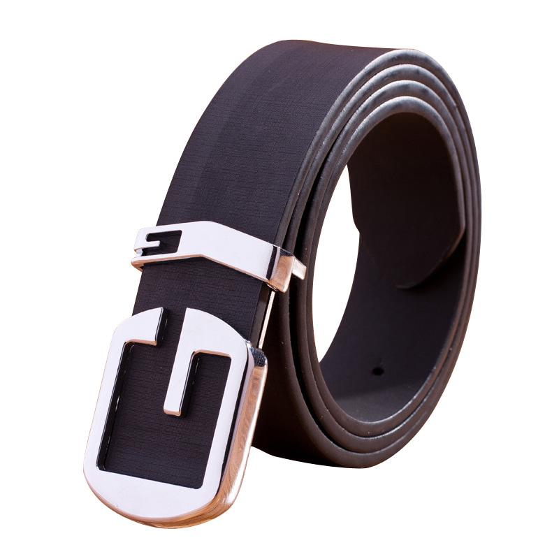 new 2017 belt fashion branded alphabet designer pu