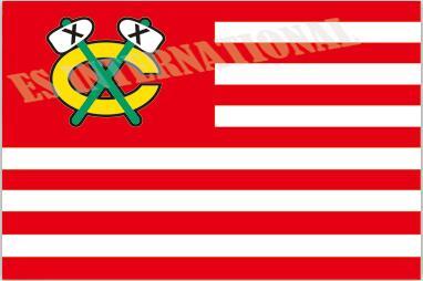 Chicago Blackhawks Flag With No Stars Stripes NHL Flag 3x5 ft custom Banner 90x150cm Sport flag Stainless Steel Grommets ES336(China (Mainland))